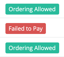 Regulr Failed Payments
